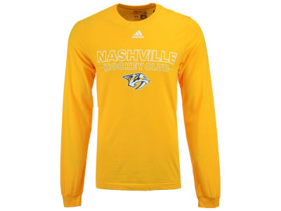 Nashville Predators adidas NHL Men's Frontline Long Sleeve T-shirt