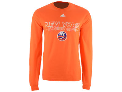 New York Islanders adidas NHL Men's Frontline Long Sleeve T-shirt