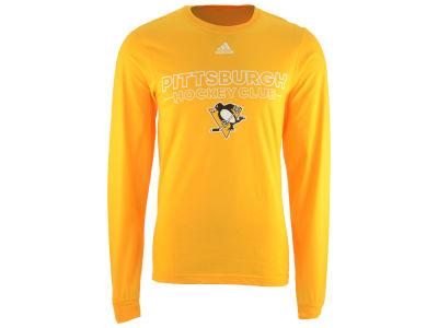 Pittsburgh Penguins adidas NHL Men's Frontline Long Sleeve T-shirt
