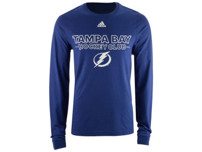 Tampa Bay Lightning adidas NHL Men's Frontline Long Sleeve T-shirt