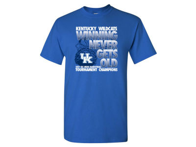 Kentucky Wildcats 2017 NCAA SEC Tourney Champ T-Shirt