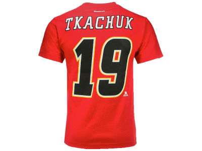Calgary Flames Matthew Tkachuk Reebok NHL CN Player T-Shirt