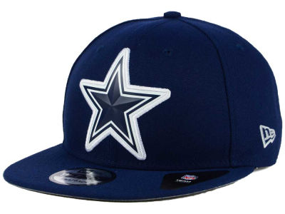 Dallas Cowboys New Era NFL Bold Bevel 9FIFTY Snapback Cap