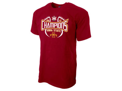 Iowa State Cyclones Blue 84 2017 NCAA Big 12 Tourney Champ T-Shirt