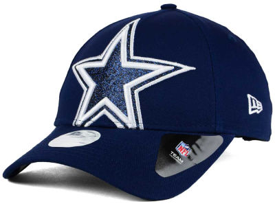Dallas Cowboys New Era NFL Women's Glitter Glam 9TWENTY Strapback Cap