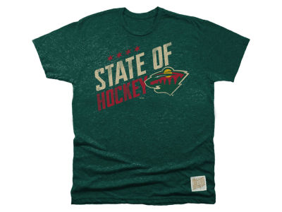 Minnesota Wild Retro Brand NHL Men's Local Flavor T-shirt