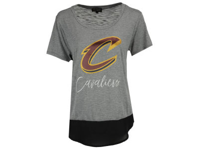 Cleveland Cavaliers Gameday Couture NBA Women's Chiffon Block T-Shirt