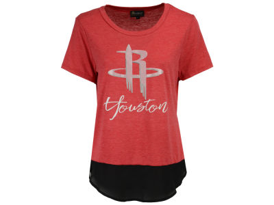 Houston Rockets NBA Women's Chiffon Block T-Shirt