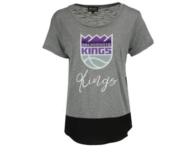 Sacramento Kings NBA Women's Chiffon Block T-Shirt