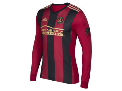 Atlanta United FC adidas MLS Men's Long Sleeve Primary Authentic Jersey