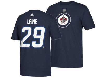 Winnipeg Jets Patrik Laine adidas NHL Men's Silver Player T-shirt