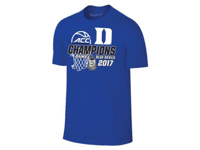 Duke Blue Devils Retro Brand 2017 NCAA ACC Tourney Champ T-Shirt