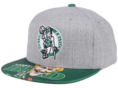 Boston Celtics Mitchell & Ness NBA Caricature Snapback Cap