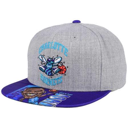 Charlotte Hornets Mitchell & Ness NBA Caricature Snapback Cap