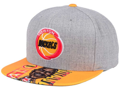 Houston Rockets Mitchell & Ness NBA Caricature Snapback Cap