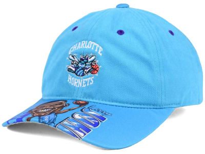 Charlotte Hornets Mitchell & Ness NBA Caricature Dad Hat