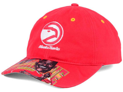 Atlanta Hawks Mitchell & Ness NBA Caricature Dad Hat