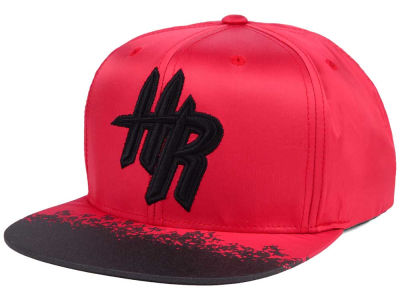 Houston Rockets Mitchell & Ness NBA Reflective Lava Snapback Cap