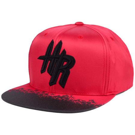 Houston Rockets Mitchell & Ness NBA Reflective Lava Snapback Cap