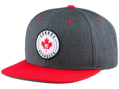 Canada DC Shoes Staple Maple Snapback Cap
