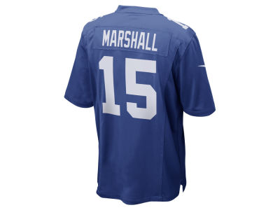New York Giants Brandon Marshall Nike NFL Men's Game Jersey