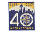Seattle Mariners MLB Sleeve Patch 40 Years Apparel & Accessories