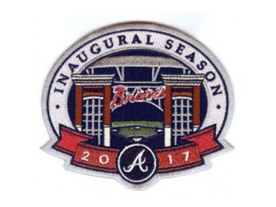 Atlanta Braves MLB Sleeve Patch Inaugural Season