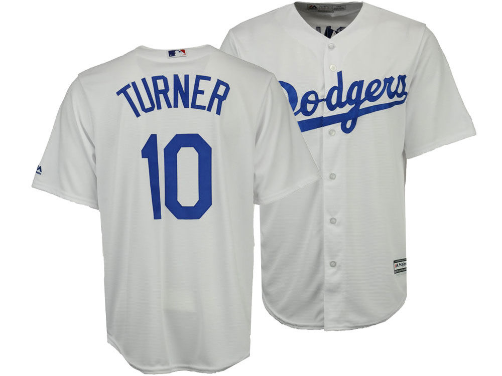 dda9accea ... top quality los angeles dodgers justin turner majestic mlb mens player  replica cool base jersey 78dbc