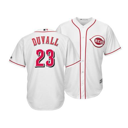 Cincinnati Reds Adam Duvall Majestic MLB Men's Player Replica Cool Base Jersey