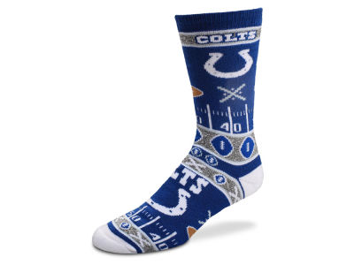 Indianapolis Colts For Bare Feet 2017 Ugly Sweater Socks