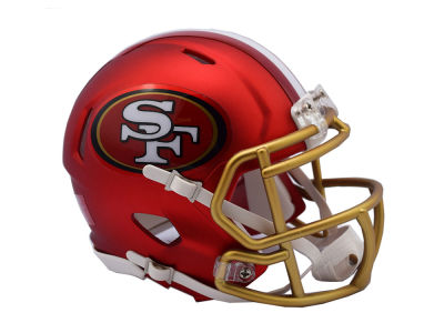 San Francisco 49ers Speed Blaze Alternate Mini Helmet