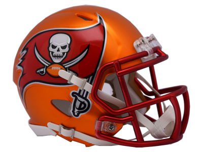 Tampa Bay Buccaneers Speed Blaze Alternate Mini Helmet