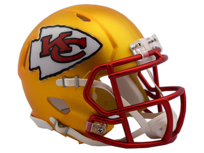 Kansas City Chiefs Riddell Speed Blaze Alternate Mini Helmet
