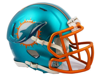 Miami Dolphins Riddell Speed Blaze Alternate Mini Helmet