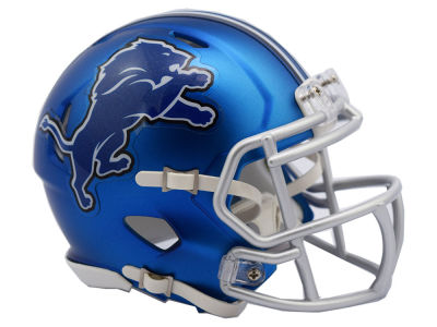 Detroit Lions Speed Blaze Alternate Mini Helmet