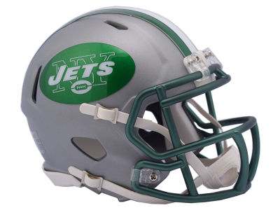 New York Jets Speed Blaze Alternate Mini Helmet