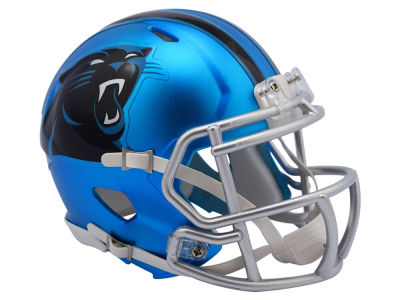 Carolina Panthers Speed Blaze Alternate Mini Helmet