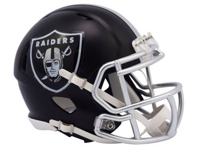 Oakland Raiders Riddell Speed Blaze Alternate Mini Helmet