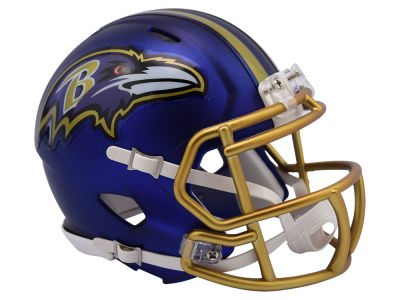 Baltimore Ravens Speed Blaze Alternate Mini Helmet