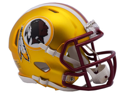 Washington Redskins Speed Blaze Alternate Mini Helmet