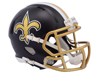 New Orleans Saints Riddell Speed Blaze Alternate Mini Helmet