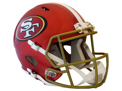 San Francisco 49ers Riddell Speed Blaze Alternate Replica Helmet