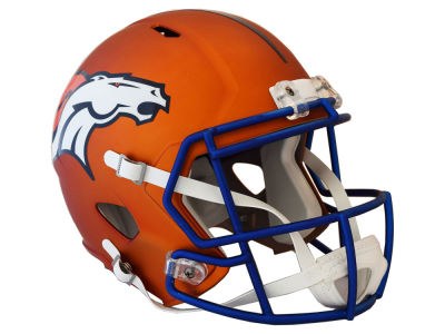 Denver Broncos Riddell Speed Blaze Alternate Replica Helmet