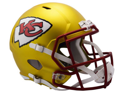 Kansas City Chiefs Riddell Speed Blaze Alternate Replica Helmet