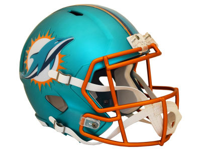 Miami Dolphins Speed Blaze Alternate Replica Helmet