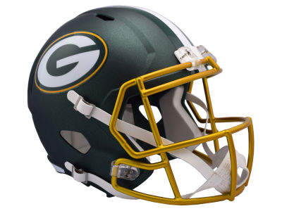 Green Bay Packers Riddell Speed Blaze Alternate Replica Helmet
