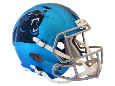 Carolina Panthers Riddell Speed Blaze Alternate Replica Helmet