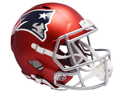 New England Patriots Riddell Speed Blaze Alternate Replica Helmet