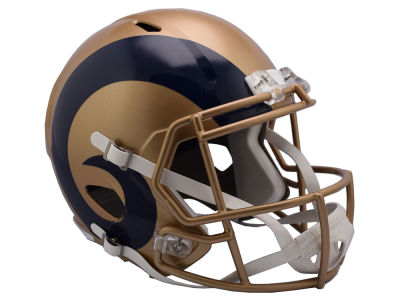 Los Angeles Rams Riddell Speed Blaze Alternate Replica Helmet