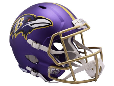 Baltimore Ravens Riddell Speed Blaze Alternate Replica Helmet